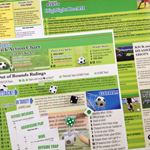Game Boards for SOCCER BLAST Pro Soccer Game