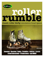 ROLLER RUMBLE Roller Derby Board Game